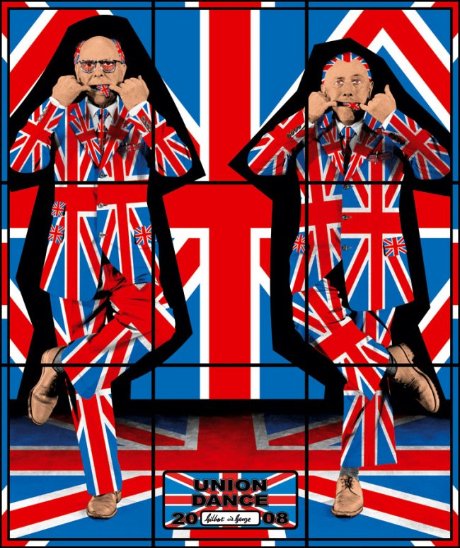 Gilbert & George. 'Union Dance' from the series 'Jack Freak Pictures' 2008