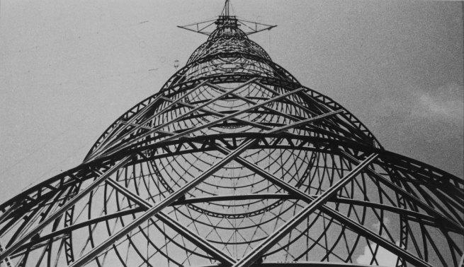 Aleksandr Rodchenko (1891-1956) 'Sjukov-masten, radiomast i Moskva' 1929