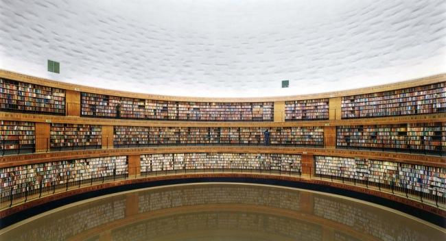 Andreas Gursky. 'Bibliothek' 1999