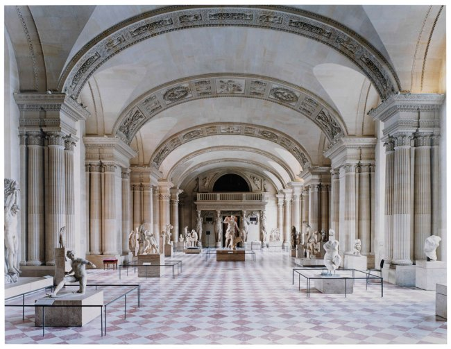 Candida Höfer. 'The Louvre in Paris X 2005 - the caryatid hall' 2005