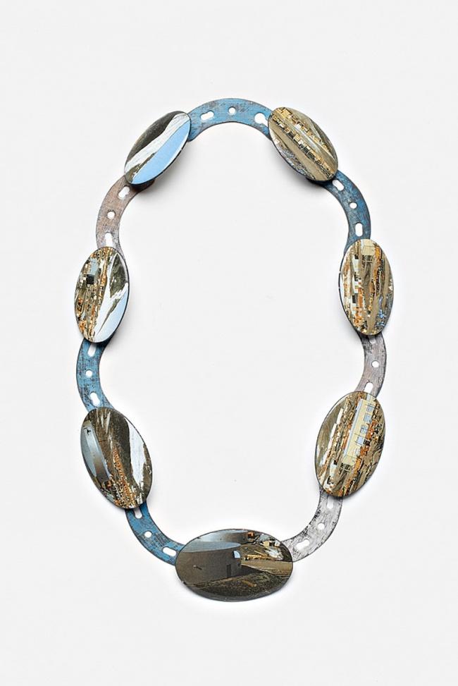 Kirsten Haydon. 'ice movement', neckpiece, 2011