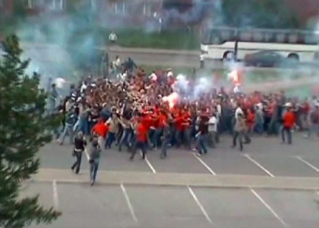 Cyprien Gaillard. 'Desniansky Raion' video still, 2007