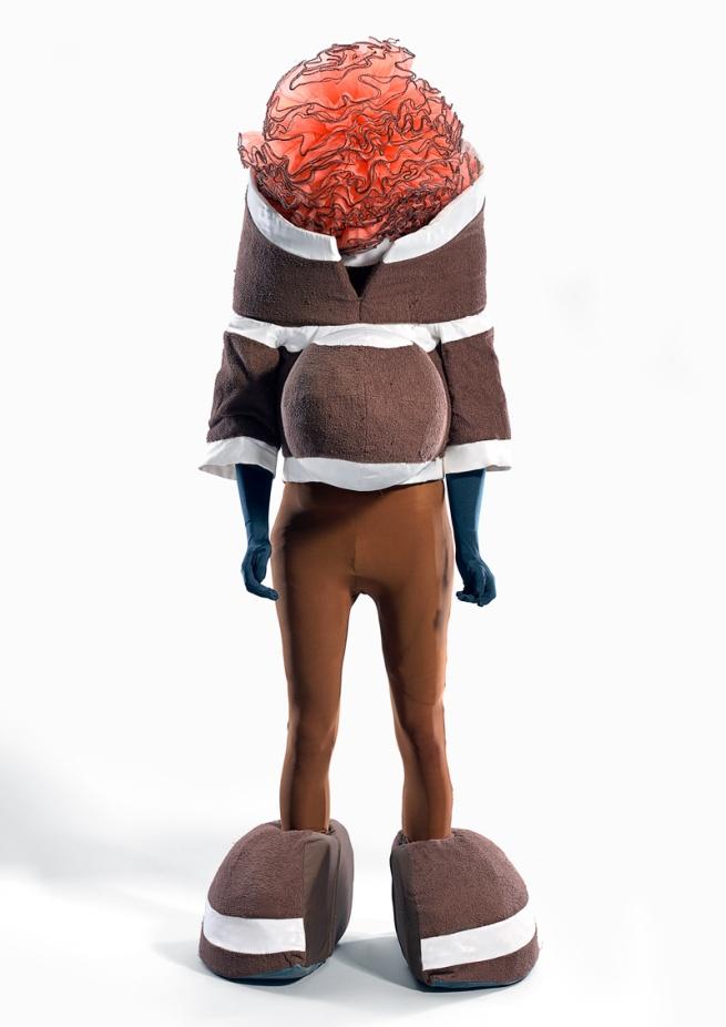 Leigh Bowery. 'Pregnant tutu head' 1992
