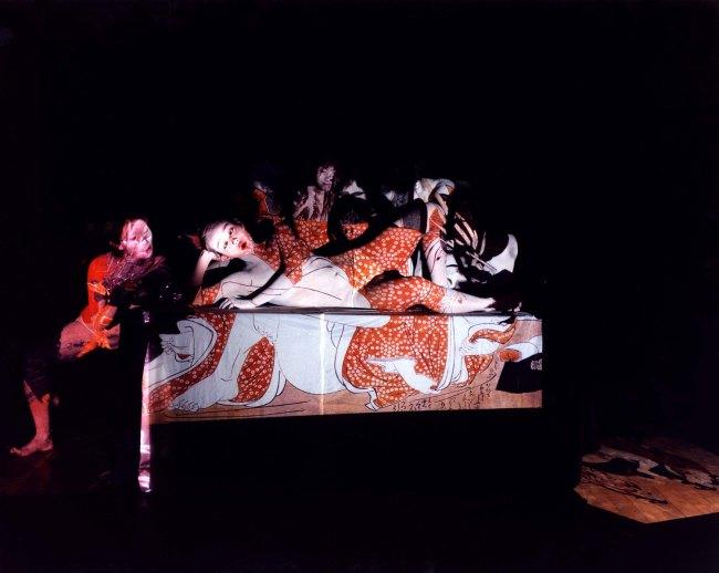 Eikoh Hosoe. 'Ukiyo-e Projections #2-36' 2003