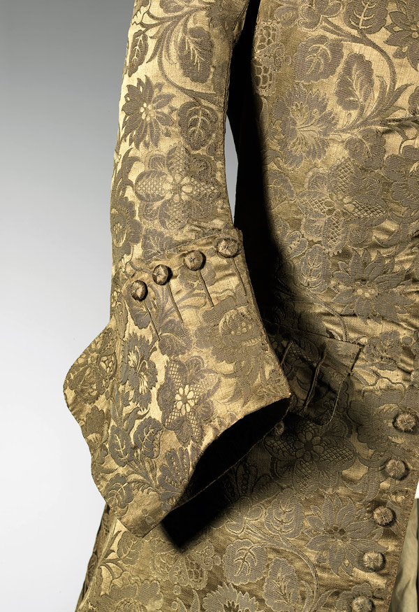 England 'Coat' 1740s (detail)