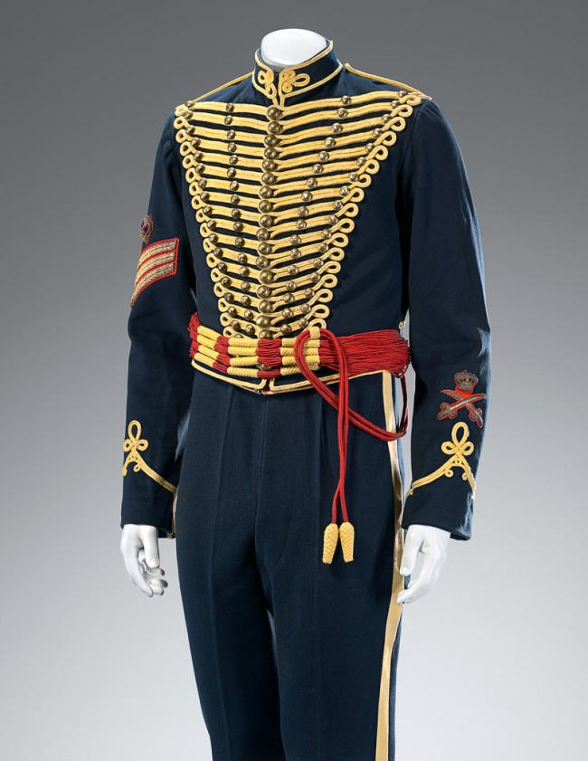 H. Lehmann, Aldershot. 'Royal Gloucester Hussar's uniform' c. 1900