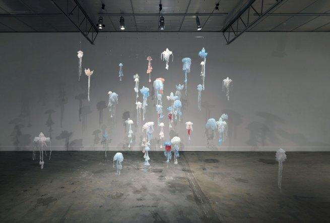 Penelope Davis. 'Smack' installation 2011