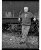 Marcus Bunyan. 'Jim Black, artist' from the series 'Études' 1994