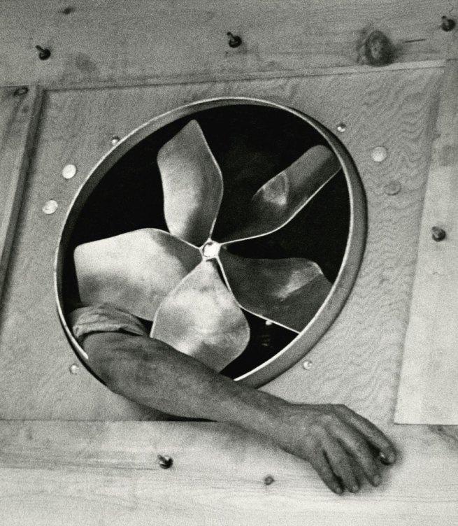 André Kertész. 'Arm and Ventilator' 1937