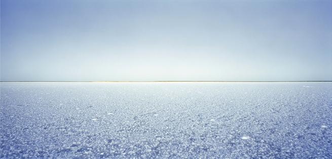 Rosemary Laing (Australian, b. 1959) 'to walk on a sea of salt' 2004