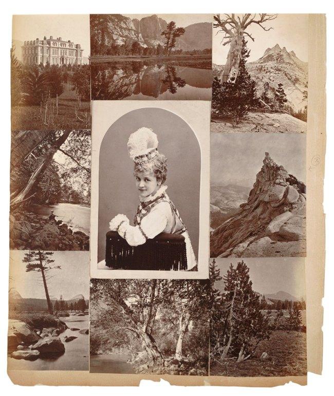 "Eadweard Muybridge. The Brandenburg Album of Bradley & Rolufson ""Celebrities"" and Muybridge Photographs, page 104, 1874"