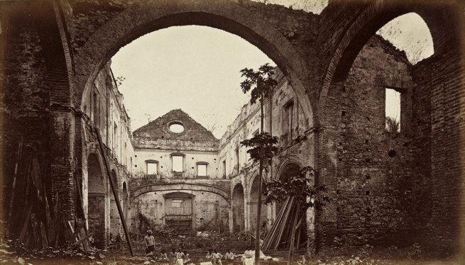 Eadweard Muybridge. 'Ruins of the Church of San Domingo, Panama' 1875