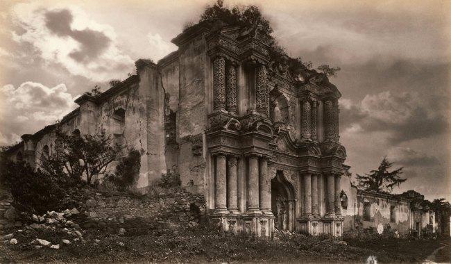 Eadweard Muybridge. 'Ruins of a Church, Antigua, Guatemala' 1875