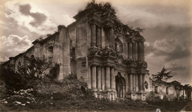 Eadweard Muybridge. 'Ruins of a Church, Antigua, Guatemala' 1875