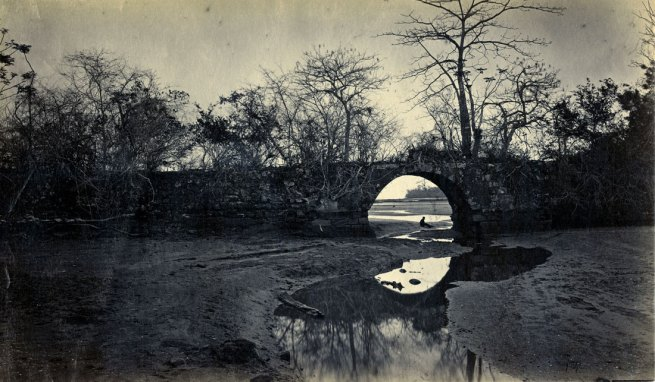 Eadweard Muybridge. 'Bridge on the Porto Bello, Panama' 1875