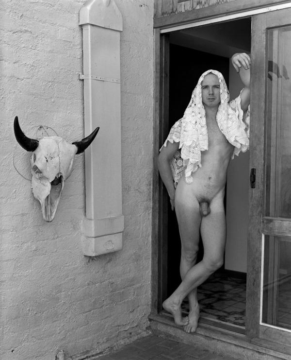 Marcus Bunyan. 'Paul, doorway (for Georgia O'Keeffe)' 1994