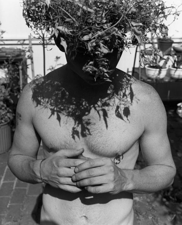 Marcus Bunyan. 'Paul, wreath and hands' 1994
