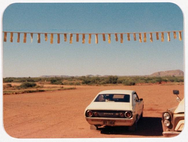 Wesley Stacey (Australia, b. 1941) 'The road: Port Hedland/Wittenoon/Roeburne, WA 14' 1973-75
