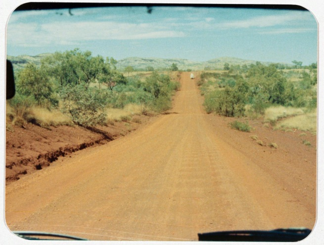 Wesley Stacey (Australia, b. 1941) 'The road: Outback to the city 3' 1973-75