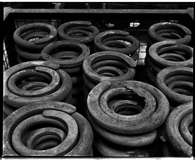 Marcus Bunyan. 'Heavy springs' from the 'At Newport' series 1991
