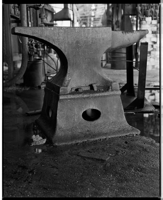 Marcus Bunyan. 'Large Anvil' from the 'At Newport' series, 1991