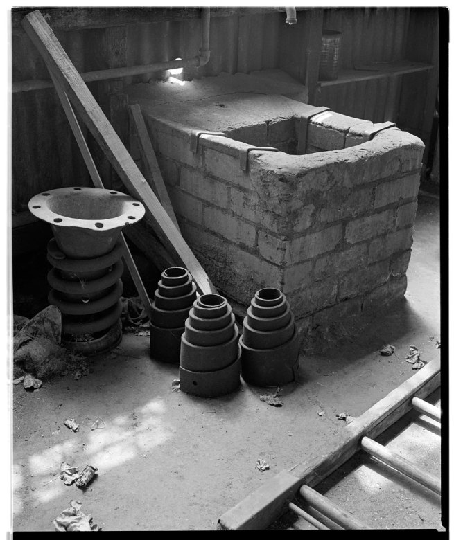 Marcus Bunyan. 'Spring, Turrets, Keep and Ladder' from the 'At Newport' series, 1991