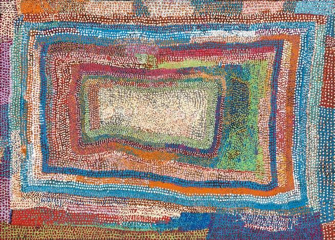 Tommy Mitchell (Ngaanyatjarra born c. 1943) 'Kurlilypurru' 2009