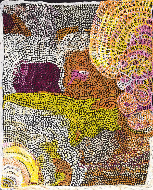 Milatjari Pumani (Yankunytjatjara, b. 1928) 'Ngura Walytja, Antara' 2010