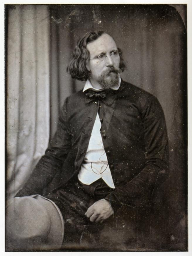 Hermann Biow (German, 1804-1850) 'Heinrich Jakob Venedey' 1848
