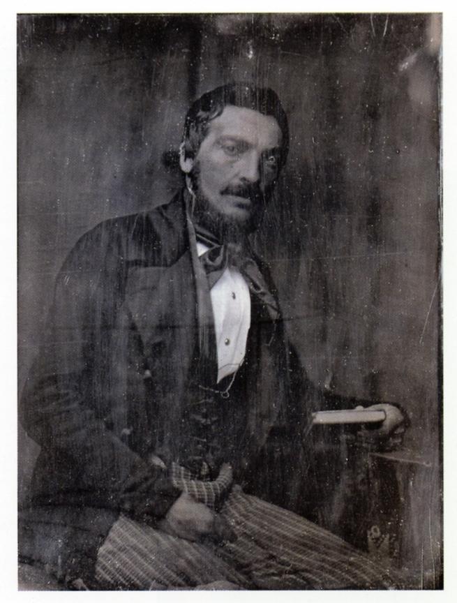 Hermann Biow (German, 1804-1850) 'Heinrich Joseph Gerhard Compes' 1848
