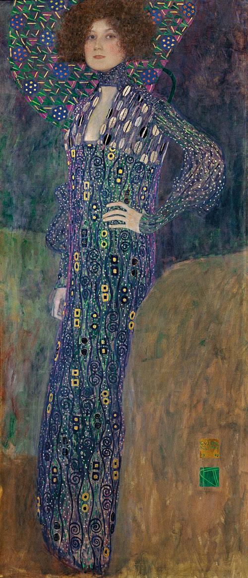 Gustav Klimt (Austria 1862-1918) 'Emilie Flöge' 1902