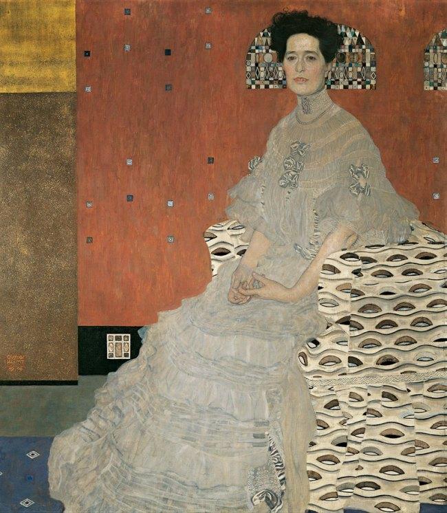 Gustav Klimt (Austria 1862-1918) 'Fritza Riedler' 1906