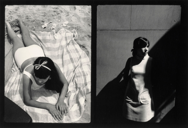 Ray K. Metzker (American, 1931-2014) 'Couplets: Atlantic City/New York City' 1969/1968