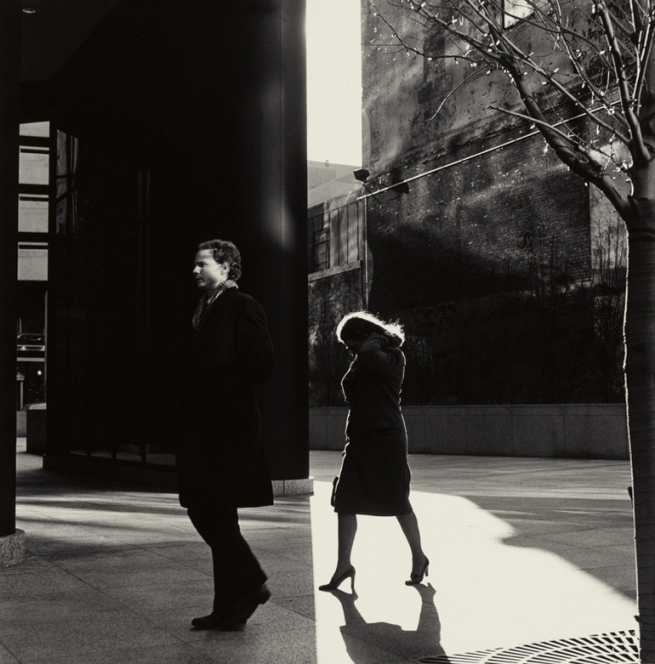 Ray K. Metzker (American, 1931-2014) 'City Whispers, Philadelphia' 1983