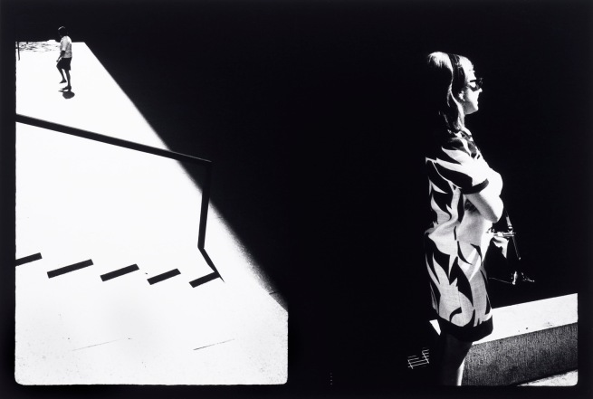 Ray K. Metzker (American, 1931-2014) 'Couplets: New York City' 1968