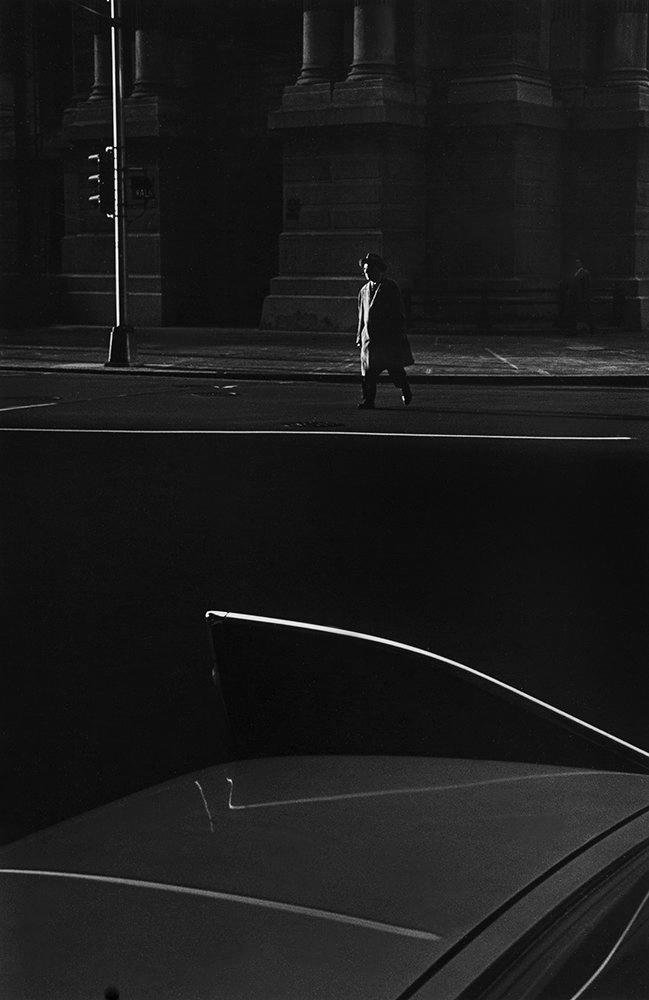 Ray K. Metzker (American 1931-2014) 'Philadelphia' 1964
