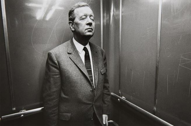 Heinrich Riebesehl (German, 1938-2010) 'Menschen im Fahrstuhl (People in the elevator)' 1969