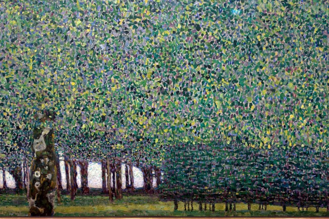 Gustave Klimt. 'The Park' 1909