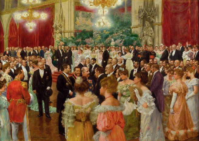 Wilhelm Gause. 'Vienna Municipal Ball' 1904