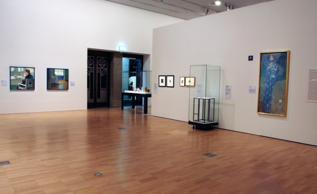 Installation view of room four of the exhibition 'Vienna - Art & Design' at the National Gallery of Victoria