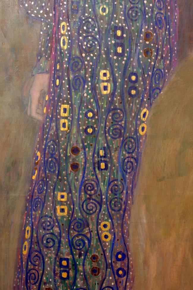 Gustav Klimt (Austria 1862-1918) 'Emilie Flöge' 1902 (detail)