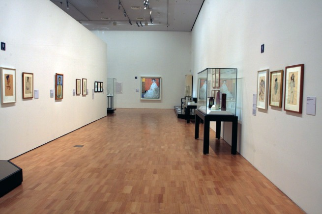 Installation view of room five of the exhibition 'Vienna - Art & Design' at the National Gallery of Victoria