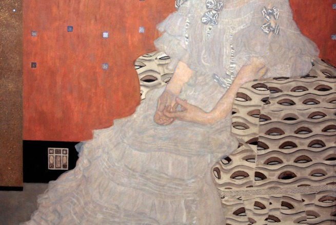 Gustav Klimt (Austria 1862-1918) 'Fritza Riedler' 1906 (detail)