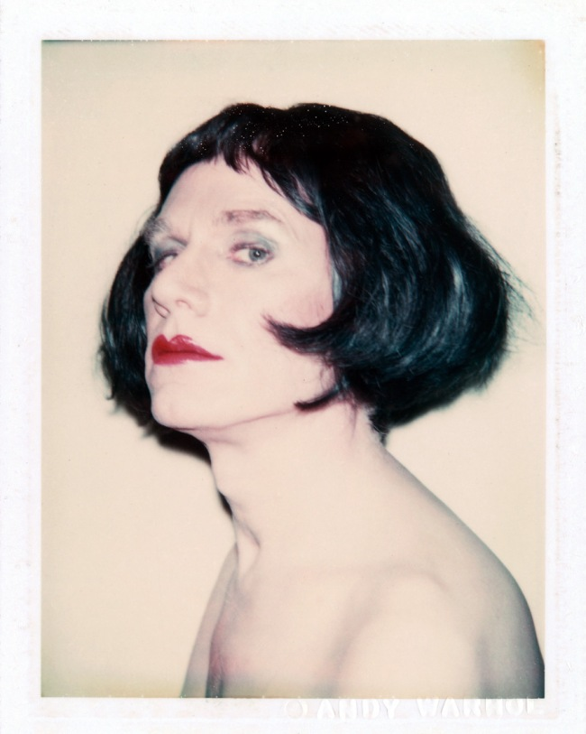 Andy Warhol. 'Self-Portrait in Drag' 1981