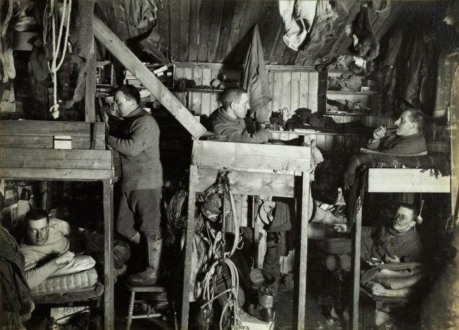 Herbert Ponting(British, 1870-1935) 'The Tenements, 9 October 1911'