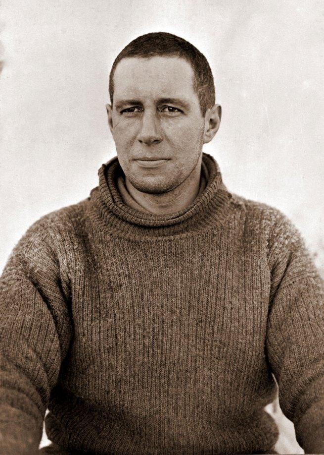 Herbert Ponting. 'Lawrence Oates' c. 1911