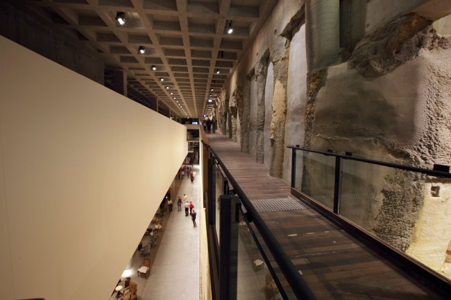 MONA B1 walkway overlooking The Void February 2011