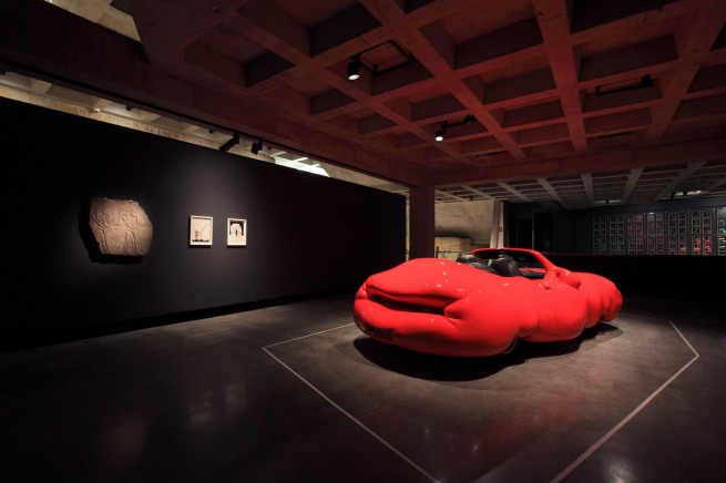 MONA Erwin Wurm. 'Fat Car' 2006