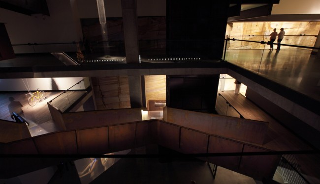 MONA Corten Stairwell February 2011