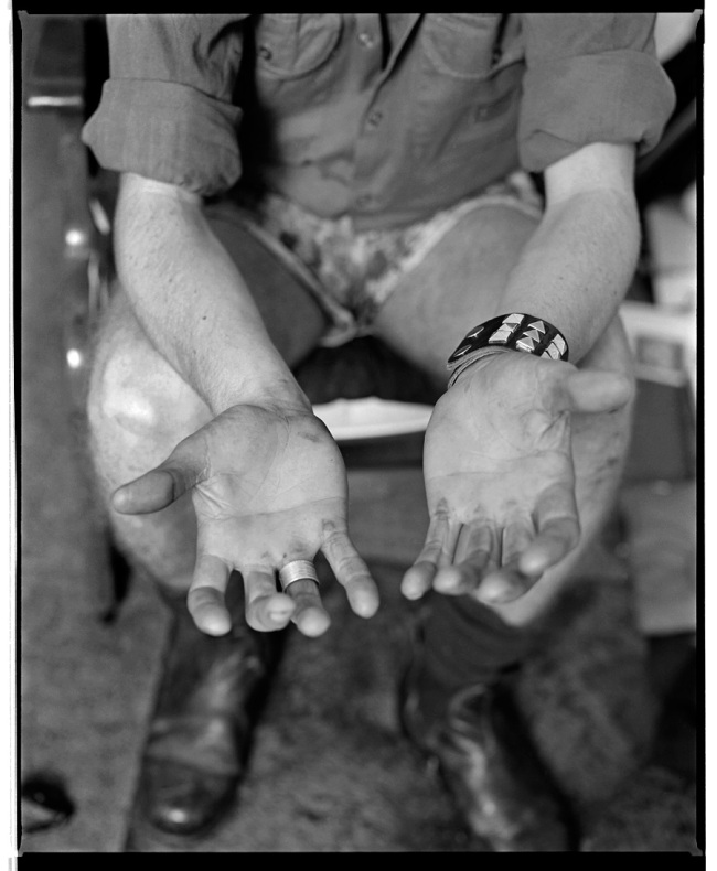 Marcus Bunyan. 'Fred's hands' 1991/2